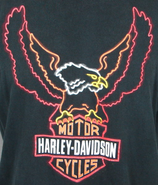 Authentic Original Harley Davidson Motorcycle T Shirt Vintageusa