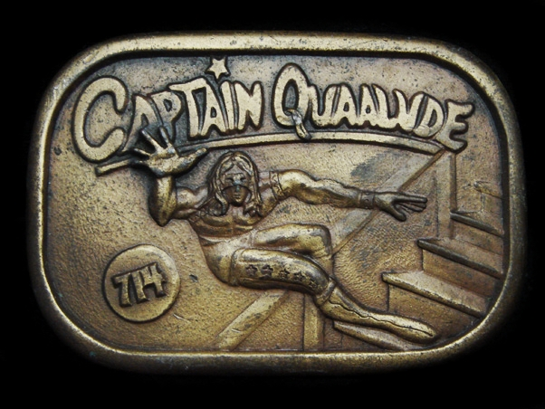 Mh03171 Very Cool Vintage 1977 Captain Quaalude 714