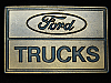 QI11123 *NOS* VINTAGE 1970s **FORD TRUCKS** COMPANY ADVERTISEMENT BELT BUCKLE