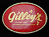 QI11175 *NOS* VINTAGE 1970s **GILLEY'S THE WORLD'S LARGEST NITE CLUB TX** BUCKLE