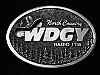 QL23149 VINTAGE 1970s *WDGY RADIO 1130 COUNTRY* MUSIC RADIO STATION BELT BUCKLE