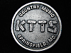 QL23157 VINTAGE 1970s *KTTS COUNTRY SPRINGFIELD* MUSIC RADIO STATION BELT BUCKLE