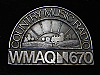 QL23158 VINTAGE 1970s **WMAQ 670 COUNTRY** MUSIC RADIO STATION BELT BUCKLE