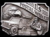 NICE VINTAGE 1993 U.S. POSTAL WORKER COMMERATIVE BUCKLE