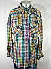 SUPER 70s VINTAGE DEE CEE WESTERN PEARLSNAP SHIRT -XL