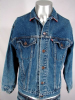 COOL VINTAGE 1980s LEVI'S 4 POCKET BLUE DENIM JACKET 41