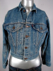 COOL VINTAGE 1980s LEVI'S 4 POCKET BLUE DENIM JACKET 36