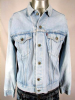 VINTAGE 1970s LEVIS 2 POCKET LIGHT BLUE DENIM JACKET 41