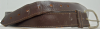 1970s VINTAGE **SMOOTH** SADDLE STITCHED BROWN BELT- 42