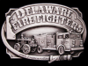 GREAT 1985 DELAWARE FIRE FIGHTERS COMMEMORATIVE BUCKLE