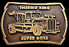 70s *THERMO KING SUPERBOSS* WORLDS FASTEST TRUCK BUCKLE