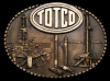 GREAT 1981 OILFIELD BUCKLE **TOTCO** OFF SHORE DERRICK
