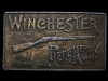 ID19142 VINTAGE 1970s ***WINCHESTER REPEATING ARMS*** BRASSTONE BUCKLE