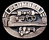 FANTASTIC 1992 **PROUD TO BE A PLUMBER** PEWTER BUCKLE