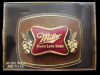 VERY COOL VINTAGE 1982 **MILLER HIGH LIFE** BEER BUCKLE