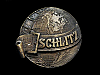 COOL VINTAGE 1970s JOS. SCHLITZ BREWING CO. BELT BUCKLE