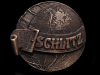 COOL VINTAGE 1970s *SCHLITZ BEER TRADEMARK* BELT BUCKLE