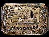 1970s *QUEEN OF THE WEST* MISSISSIPPI RIVERBOAT BUCKLE