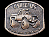 1976 4 WHEELING IS MORE THAN JUST DRIVING BRASS BUCKLE