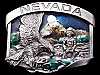 COOL VINTAGE 1986 **NEVADA SOUVENIR** GOLD MINER BUCKLE