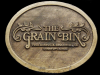 1970s *THE GRAIN BIN FINE DINING & DISCOTHEQUE* BUCKLE