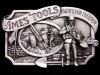 GREAT VINTAGE 1984 AMES TOOLS FIGHTS FOR FREEDOM BUCKLE