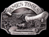 GREAT 1986 AMES TOOLS PIONEERS CONQUER THE WEST BUCKLE