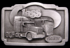 GREAT 1987 VINTAGE BUCKLE **PETERBILT CLASS** TRUCKS
