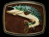 VERY COOL VINTAGE 1979 ***SPECKLED TROUT*** BELT BUCKLE