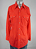 VINTAGE 1970s DEE CEE BRAND SAWTOOTH PEARLSNAP SHIRT 44