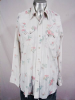 VINTAGE 1970s FLORAL PRINT SAWTOOTH PEARLSNAP SHIRT- 47