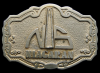 GREAT VINTAGE 1970s OILFIELD BUCKLE **NS NIAGARAN OIL**