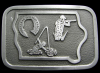 COOL 1970s IZAAK WALTON LEAGUE OF AMERICA SPORT BUCKLE