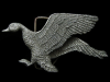 COOL VINTAGE 1978 CUT-OUT ***FLYING DUCK*** BELT BUCKLE