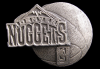 JK14168 GREAT 1995 **DENVER NUGGETS** NBA BASKETBALL PEWTER BELT BUCKLE