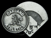 JK29114 VINTAGE 1994 **OAKLAND A'S** ATHLETICS MLB BASEBALL PEWTER BELT BUCKLE