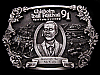 JG09133 VINTAGE 1991 **CHISHOLM TRAIL FESTIVAL - NEWTON KS** PEWTER BELT BUCKLE