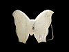 JJ13172 VINTAGE 1970s CUT-OUT SMALL **BUTTERFLY** SOLID BRASS BELT BUCKLE