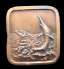 GREAT 1978 *FISHERMAN CATCHING A MARLIN* BELT BUCKLE