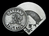 JL15130 VINTAGE 1994 **OAKLAND ATHLETICS** A's MLB BASEBALL PEWTER BELT BUCKLE