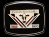 NOS VINTAGE 1985 HOLSTEIN ASSOCIATION 100 YEARS BUCKLE