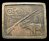 COOL 1976 *COLT RIFLE* AN AMERICAN HERITAGE BELT BUCKLE