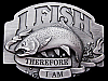 COOL VINTAGE 1992 **I FISH THEREFORE I AM** BELT BUCKLE