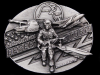 1991 *OPERATION DESERT STORM* COMMEMORATIVE BELT BUCKLE