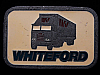 HL03151 VINTAGE 1970s **WHITEFORD TRUCKING CO.** PEWTER BUCKLE