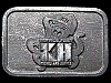 HL05164 VINTAGE 1970s ***KH METALS AND SUPPLY*** PEWTER BUCKLE