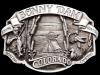 IG27135 *NOS* VERY COOL VINTAGE 1987 ***BONNY DAM COLORADO*** PEWTER BUCKLE