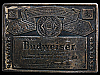 JJ09142 GREAT VINTAGE 1970s GENUINE ***BUDWEISER*** LAGER BEER BUCKLE