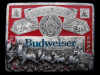 1970s BUDWEISER KING OF BEERS (CLYDESDALES) BEER BUCKLE