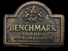 IB17144 GREAT 1970s **BENCHMARK SOUR MASH BOURBON** BELT BUCKLE